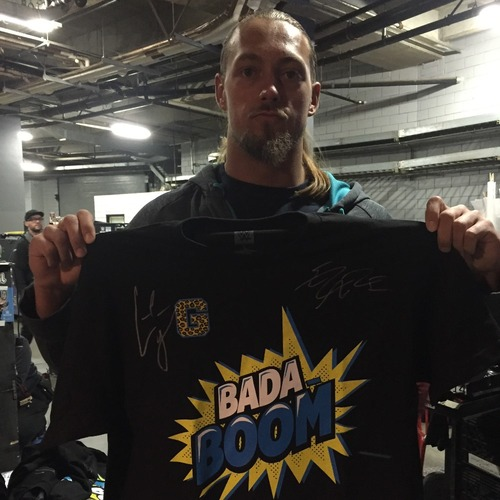 Photo of Enzo & Big Cass SIGNED Authentic T-Shirt (Size M)
