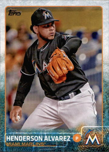 Photo of 2015 Topps #577 Henderson Alvarez