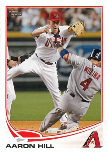 Photo of 2013 Topps #302 Aaron Hill