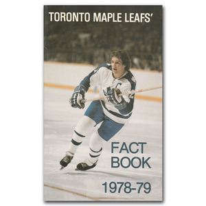Toronto Maple Leafs 1978-79 Fact Book