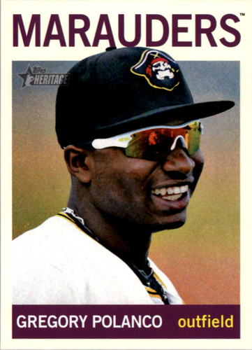 Photo of 2013 Topps Heritage Minors #154 Gregory Polanco