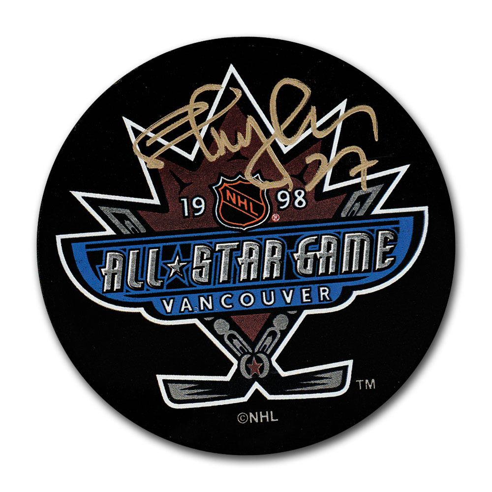 Shayne Corson Autographed 1998 NHL All-Star Game Puck