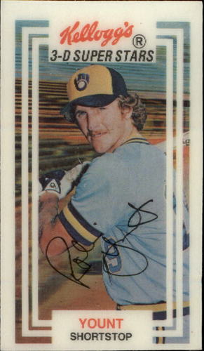 Photo of 1983 Kellogg's #14 Robin Yount