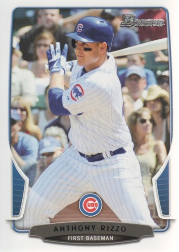 Photo of 2013 Bowman #177 Anthony Rizzo Cubs post-season