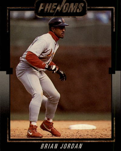 Photo of 1992 Donruss Rookies Phenoms #BC14 Brian Jordan