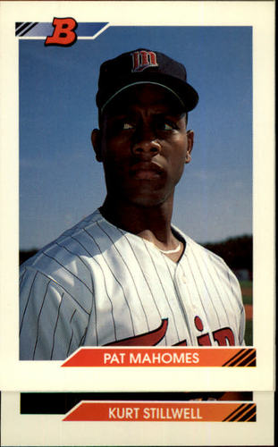 Photo of 1992 Bowman #131 Pat Mahomes RC
