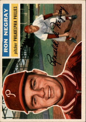 Photo of 1956 Topps #7 Ron Negray RC
