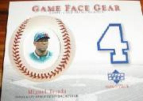 Photo of 2003 Upper Deck Game Face Gear #MT Miguel Tejada Jersey