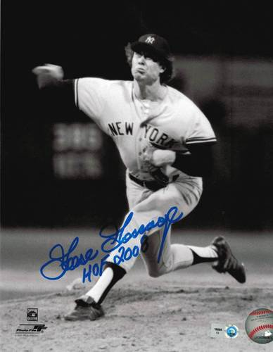 "Photo of Goose Gossage ""HOF 2008"" Autographed 8x10"