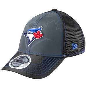 Toronto Blue Jays Youth Flashed Front Neo Stretch Cap by New Era