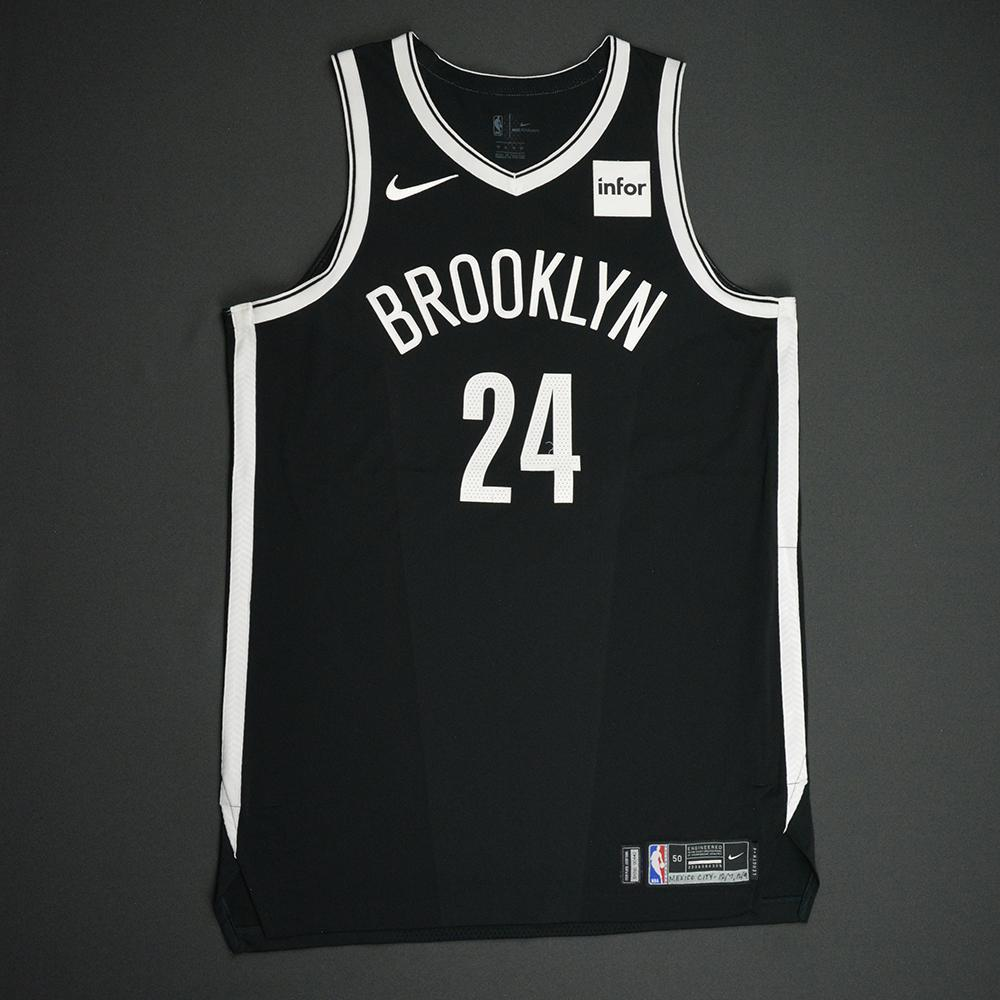 Rondae Hollis-Jefferson - Brooklyn Nets - NBA Mexico City Games 2017 Game-Worn Jersey - Worn In 2 Games