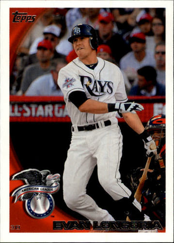 Photo of 2010 Topps Update #US40 Evan Longoria