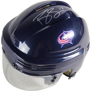 Brandon Dubinsky Signed Columbus Blue Jackets Blue Replica Mini Helmet