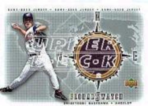 Photo of 2002 Upper Deck Global Swatch Game Jersey #GSSH Shigetoshi Hasegawa
