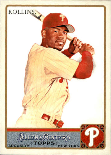 Photo of 2011 Topps Allen and Ginter #31 Jimmy Rollins