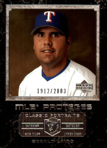 Photo of 2003 Upper Deck Classic Portraits #156 Gerald Laird MP