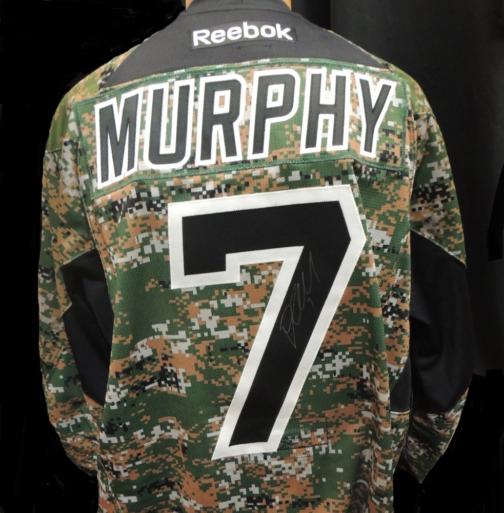 Carolina Hurricanes Ryan Murphy #7 Military Appreciation Jersey