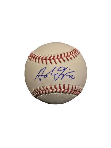 Photo of Adam Frazier Autographed Baseball