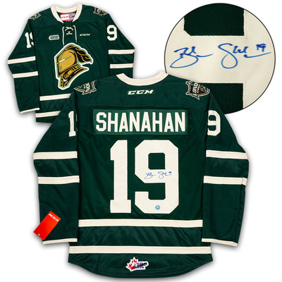 Brendan Shanahan London Knights Autographed CHL CCM Premier Hockey Jersey