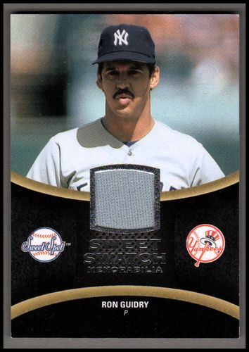 Photo of 2008 Sweet Spot Swatches #SRG Ron Guidry