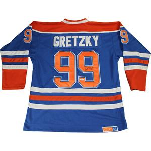 Wayne Gretzky Signed Edmonton Oilers Jersey