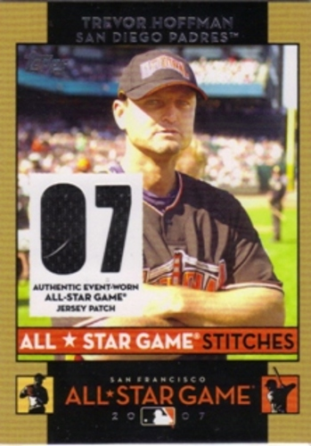 Photo of 2007 Topps Update All-Star Stitches #TWH Trevor Hoffman