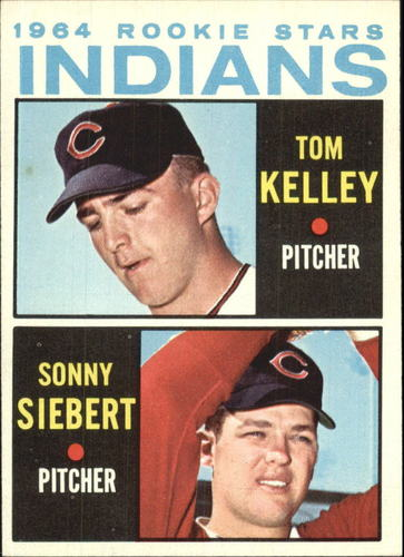 Photo of 1964 Topps #552 Rookie Stars/Tom Kelley RC/Sonny Siebert RC