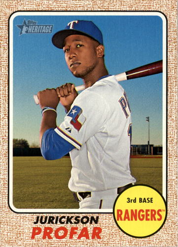 Photo of 2017 Topps Heritage #296 Jurickson Profar