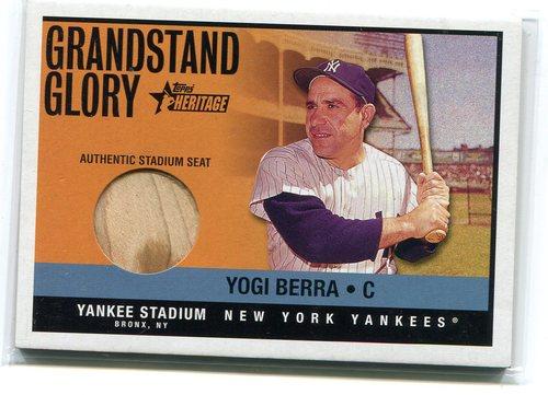 Photo of 2001 Topps Heritage Grandstand Glory Yogi Berra