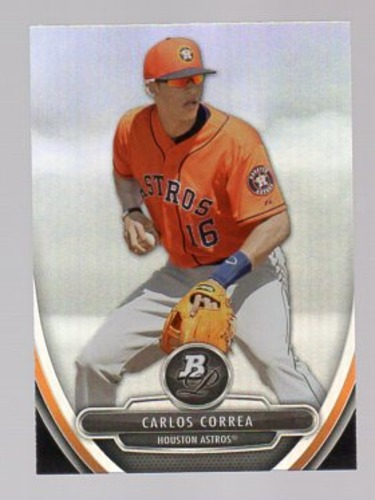 Photo of 2013 Bowman Platinum Prospects #BPP23 Carlos Correa Pre-rookie Card