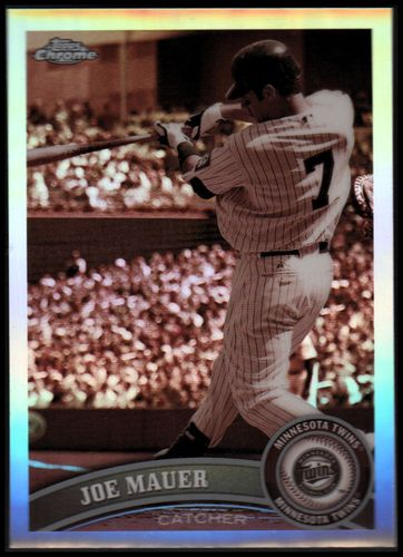 Photo of 2011 Topps Chrome Sepia Refractors #80 Joe Mauer