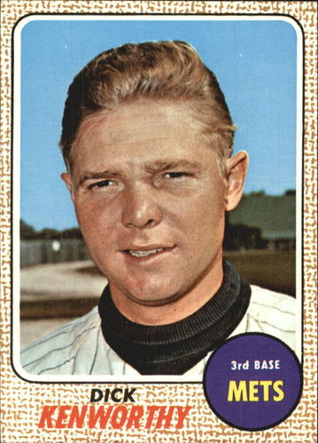 Photo of 1968 Topps #63 Dick Kenworthy RC