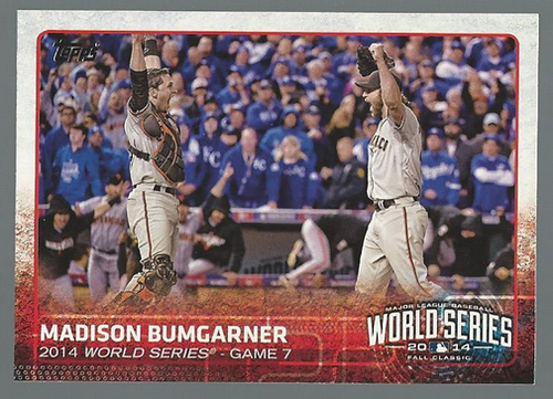 Photo of 2015 Topps #88 Madison Bumgarner WSH