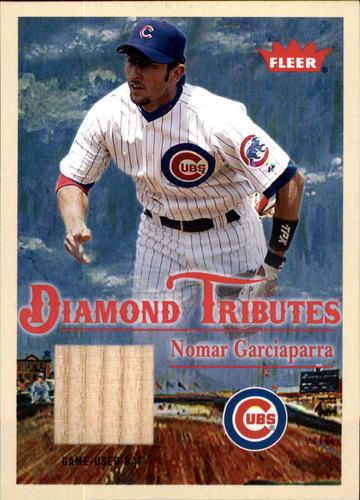 Photo of 2005 Fleer Tradition Diamond Tributes Game Used #NG Nomar Garciaparra Bat