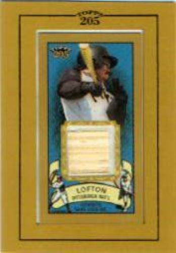 Photo of 2003 Topps 205 Relics #KL1 Kenny Lofton Bat G1