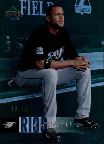 Photo of 2006 Upper Deck Special F/X Green #469 Alex Rios /99