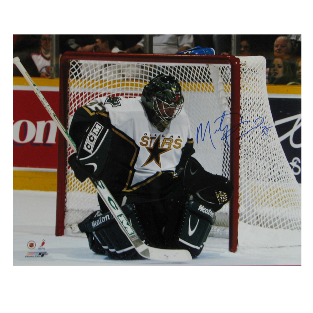 MARTY TURCO Signed Dallas Stars 16 X 20 Photo - 79043
