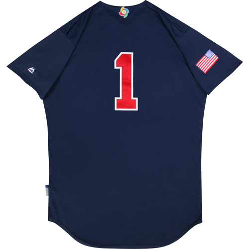 Photo of 2017 WBC: USA Game-Used Batting Practice Jersey, Alan Trammell #1