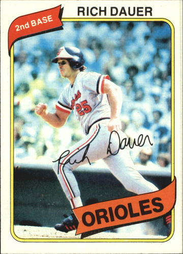 Photo of 1980 Topps #102 Rich Dauer