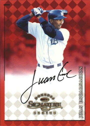 Photo of 1998 Donruss Signature Autographs #28 Juan Encarnacion/3400*