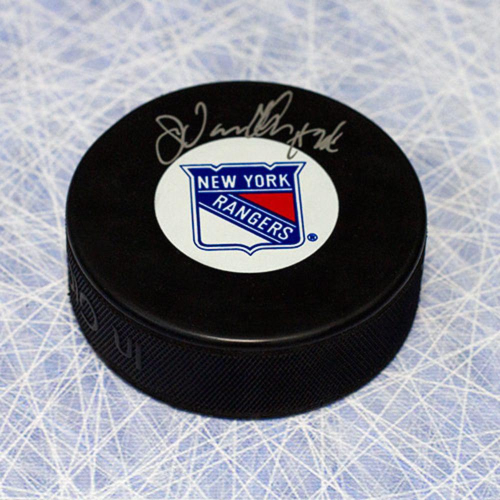 John Vanbiesbrouck New York Rangers Autographed Hockey Puck