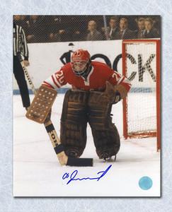 Vladislav Tretiak CCCP-Russia Autographed 1972 Summit Series Goalie 16x20 Photo