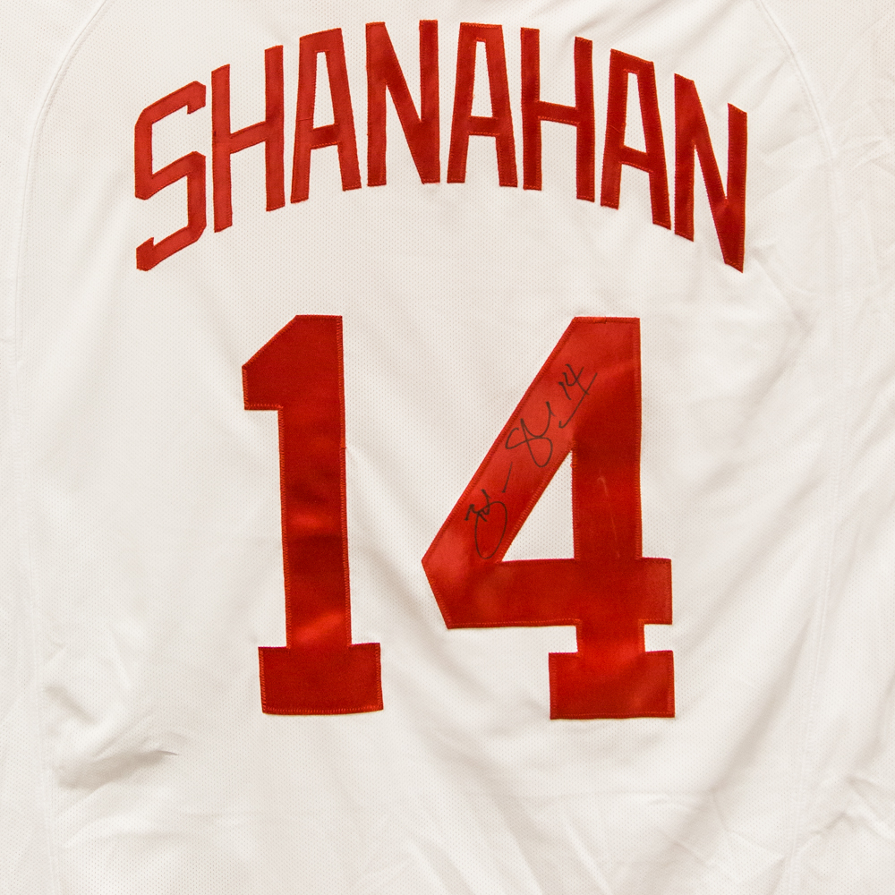 Autographed Brendan Shanahan Jersey from Nicklas Lidstrom Jersey Retirement Night - Detroit Red Wings