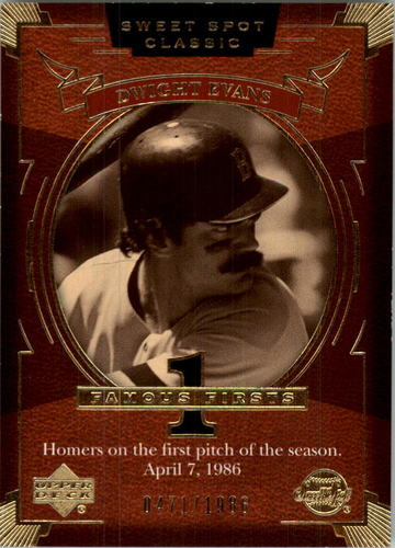 Photo of 2004 Sweet Spot Classic #103 Dwight Evans FF/1986