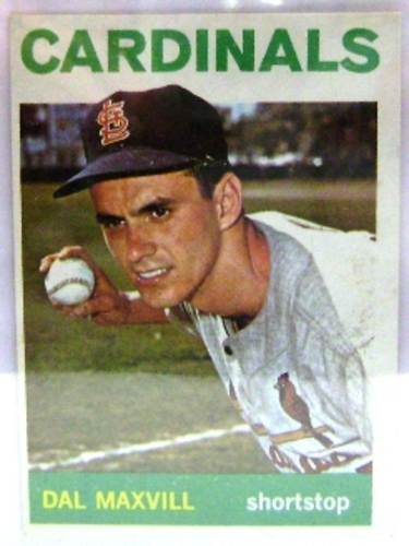 Photo of 1964 Topps #563 Dal Maxvill