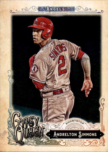 Photo of 2017 Topps Gypsy Queen #234 Andrelton Simmons