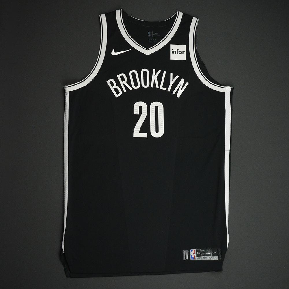 Timofey Mozgov - Brooklyn Nets - NBA Mexico City Games 2017 Game-Worn Jersey - Worn In 2 Games