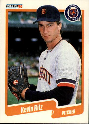 Photo of 1990 Fleer #613 Kevin Ritz RC