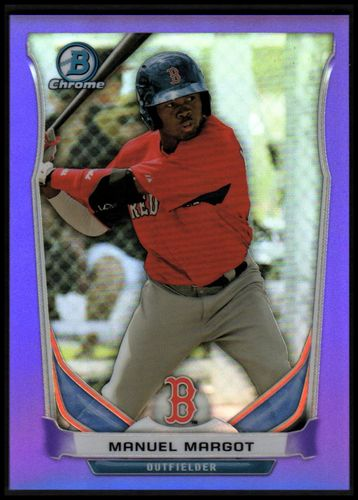 Photo of 2014 Bowman Chrome Prospects Series 2 Purple Refractors #BCP29 Manuel Margot