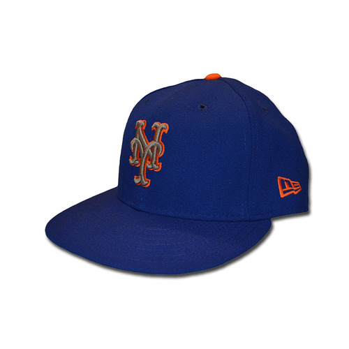 Photo of A.J. Ramos #44 - Game Used Blue Alternate Road Hat - Mets vs. Phillies - 9/29/17